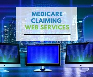 Medicare claiming web services
