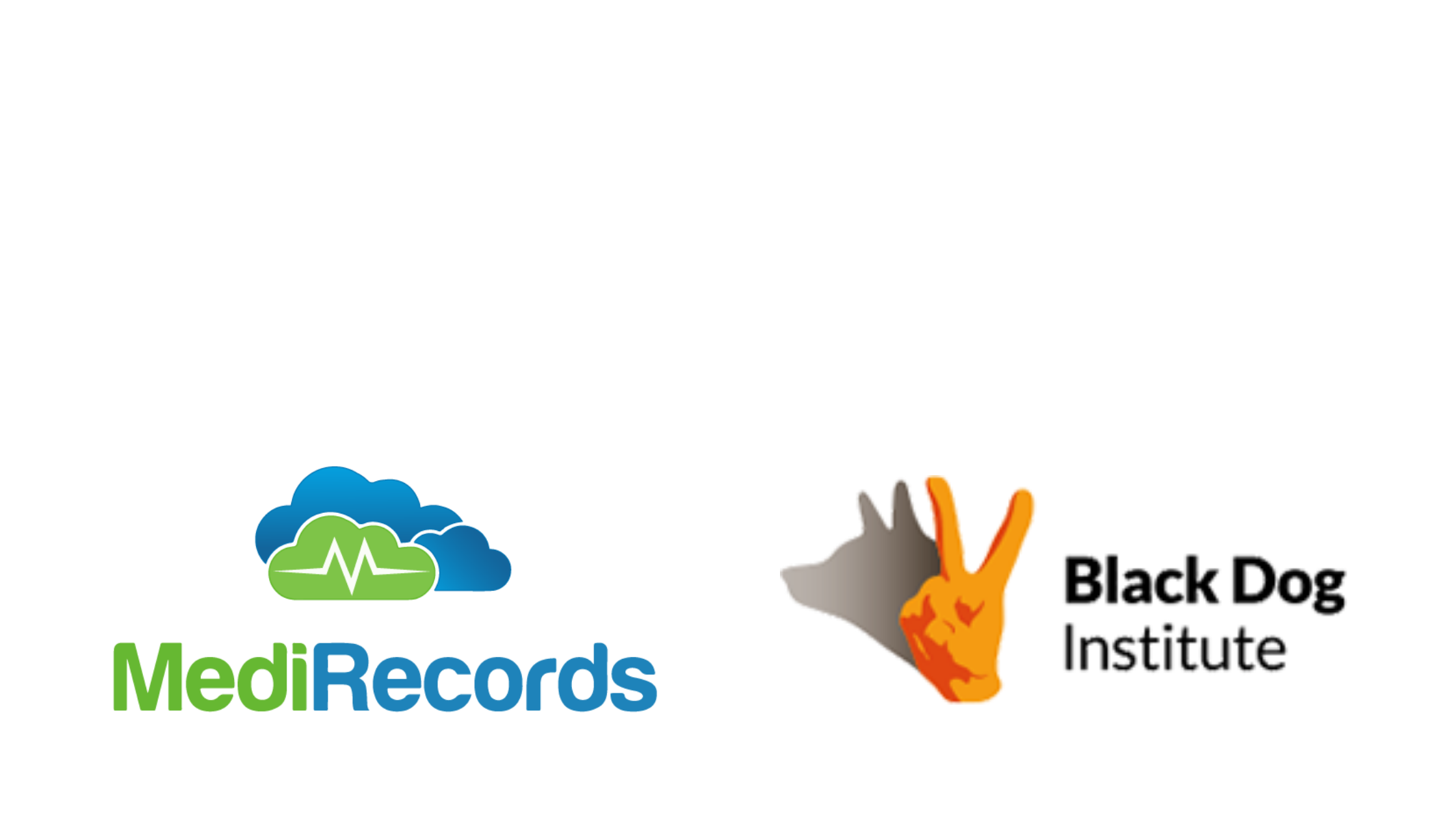 MediRecords BlackDog Institute announce partnership