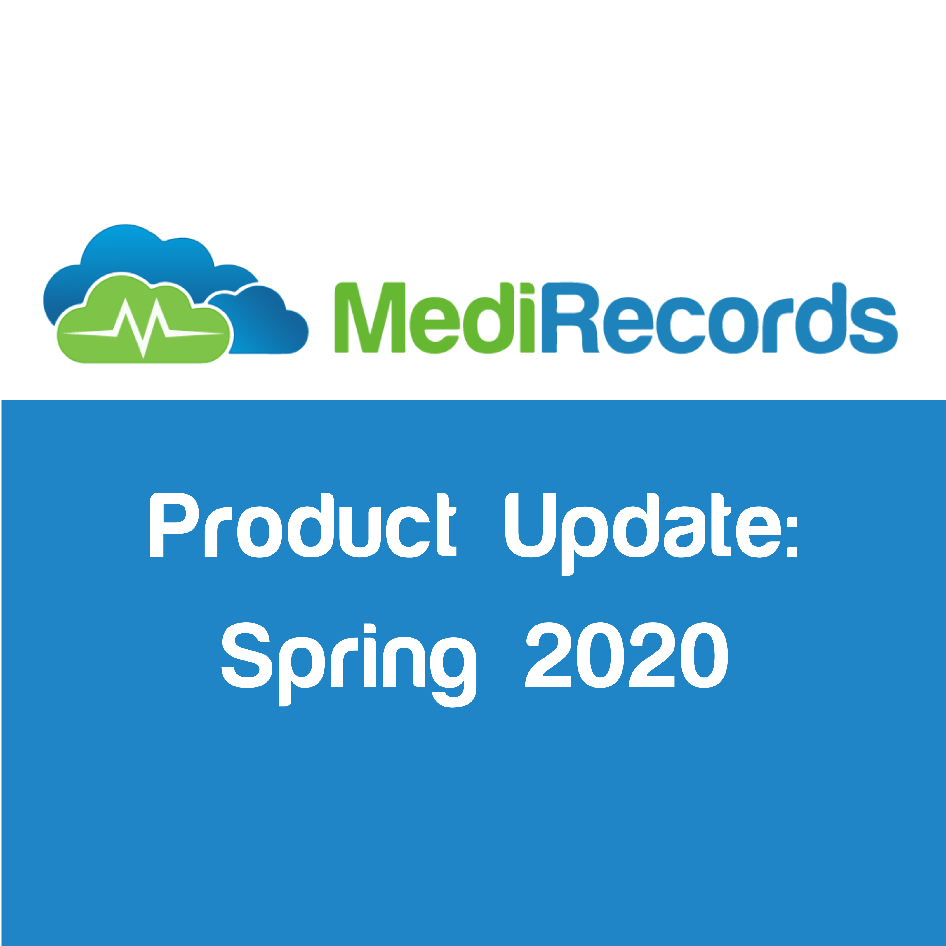 MediRecords Product Update November 2020